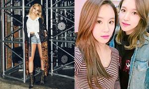 Sao Hàn 8/11: CL khoe chân dài bất ngờ, Chae Young - Mina như sinh đôi