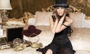 Tủ quần áo bên trong căn hộ dát vàng của phu nhân Trump