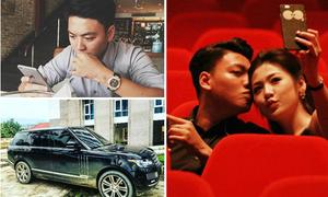 Những món đồ hiệu đắt giá của bạn trai mới Á hậu Tú Anh