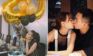 Sao Việt 14/11: Kỳ Duyên làm sinh nhật hoành tráng, Phở 'khóa môi' bạn gái