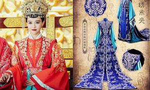 Phim mới của Đường Yên gây sốt vì trang phục quá đẹp