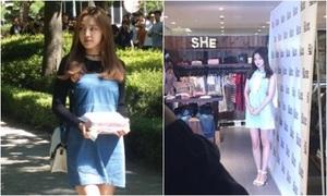 Na Eun - mỹ nhân Kpop khẳng định đẳng cấp với ảnh chụp trộm