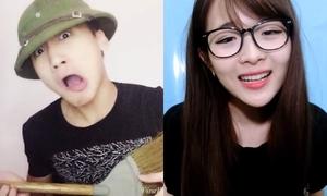 Thế hệ vlogger mới 'chặt chém' vui chẳng kém các 'tiền bối'