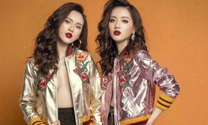 Người mẫu shop online Hà thành ngày càng giống nhau