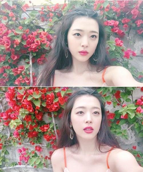 sao-han-18-11-sulli-khoe-nhan-sac-nu-than-lee-sung-kyung-mat-ngo-cute-5