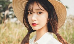 Hot girl Hàn xinh như mộng đắt show làm mẫu online