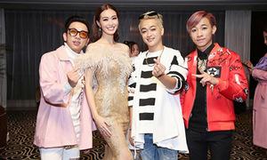 Khánh My cùng nhóm HKT ra mắt phim ở Trung Quốc