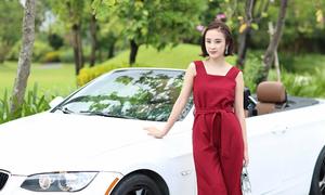 Angela Phương Trinh chuẩn bị 100 bộ đồ để quay phim