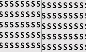 Chỉ có đôi mắt cú vọ mới phát hiện các chữ cái ẩn nấp trong 10 giây