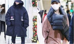 G-Dragon thấp kỳ dị vì áo phao hàng hiệu