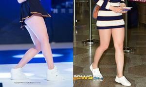 ChoA AOA hot bất ngờ nhờ đôi chân mập mạp