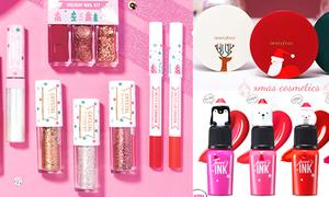 3 dòng mỹ phẩm Hàn Quốc siêu đáng yêu cho mùa Noel