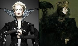 Tạo hình ban đầu của các nhân vật phim nổi tiếng