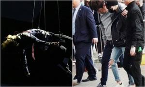 Treo người trên không, Jung Kook dính chấn thương tại MAMA