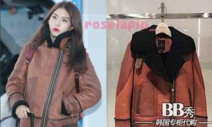 Bóc giá loạt áo khoác bông cực ấm của idol Hàn mùa MAMA