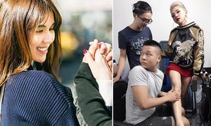 Sao Việt 7/12: Ngọc Trinh nắm tay bạn trai, Tóc Tiên có trợ lý 'bóp chân'