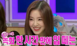 Irene Red Velvet bị chỉ trích vì 'câm như hến' trên talk show