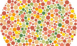 Tìm số bí ẩn trong bảng chấm màu (2)