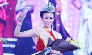 Hoa khôi 'Nữ sinh viên Việt Nam' tin 60% sẽ đăng quang dù ứng xử ngập ngừng