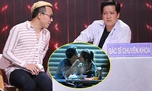 Trấn Thành bị 'đá xoáy' về khoảnh khắc hôn Hari Won ở vỉa hè