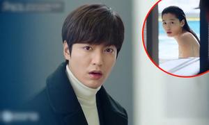 Lee Min Ho nhiều lần 'đứng hình' vì Jun Ji Hyun quá xinh