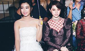 Jolie Nguyễn khoe da trắng, chân thon bên hoa hậu Mỹ Linh