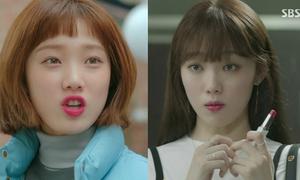 Lee Sung Kyung dùng một thỏi son từ 'Doctors' sang 'Tiên nữ cử tạ'