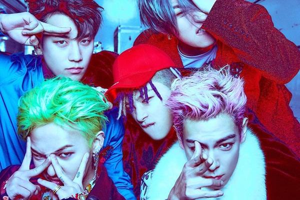 T.O.P chia sẻ ảnh cả 5 thành viên Big Bang với tạo hình và phong cách cực chất.