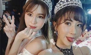 Quỳnh Anh Shyn như công chúa bên mỹ nhân 'Full House' Thái