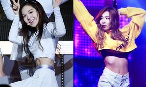 Những vòng eo gầy lộ xương sườn của người đẹp Hàn