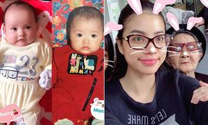Sao Việt 21/12: Con gái Hồng Quế như bản sao của mẹ, Phạm Hương khoe bà xì tin