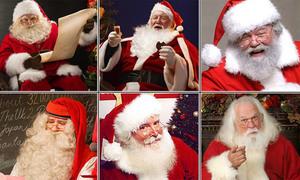 Phân biệt ông già Noel thật - giả