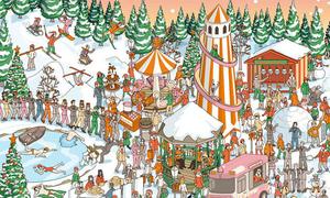 Ông già Noel đang trốn ở đâu?