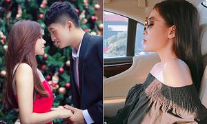 Sao Việt 24/12: Kỳ Duyên khoe góc nghiêng sang chảnh, Midu - Harry Lu tình tứ Noel
