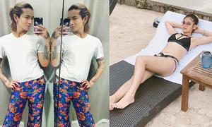 Sao Việt 28/12: Yến Chibi 'lép' vẫn tự tin, BB Trần mặc quần hoa như 'gái quê'