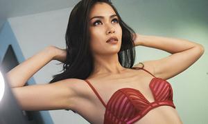 Mâu Thủy khoe dáng bốc lửa với bikini, được ủng hộ thi Hoa hậu Hoàn vũ