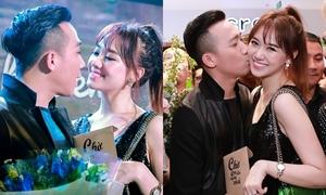 Trấn Thành - Hari Won 'tình bể bình' dự ra mắt phim sau khi cưới