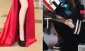 Trình độ đi giày cao gót 'thượng thừa' của Chi Pu