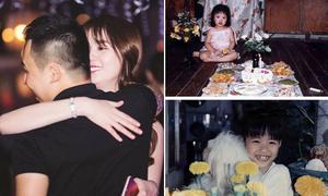 Sao Việt 30/12: Ngọc Trinh ôm ông bầu tình tứ, Đông Nhi khoe ảnh thời sún răng