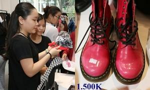 Fan tấp nập đến mua đồ cũ của Chi Pu - Gil Lê
