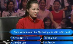 'Vàng Anh' Minh Hương không nhớ nổi món Tom Yum là của nước nào