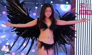 Trung Quốc: Mẫu nhí mặc nội y trình diễn gây bức xúc