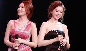 Hari Won bị Bảo Anh 'vượt mặt' giành giải Ca sĩ triển vọng