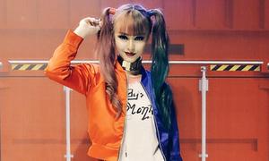 MLee cosplay Harley Quinn đẹp xuất sắc
