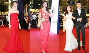 Rừng sao Việt lộng lẫy trên thảm đỏ lễ trao giải điện ảnh