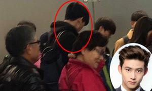 Taec Yeon (2PM) sẽ đáp chuyến bay vào lúc 1h30 đến Hà Nội