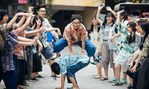 Nữ sinh Chu Văn An diễn sâu trong bộ ảnh kỷ yếu thời bao cấp