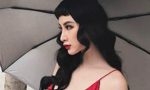 Angela Phương Trinh cắt tóc mái 'úp nồi' vẫn xinh