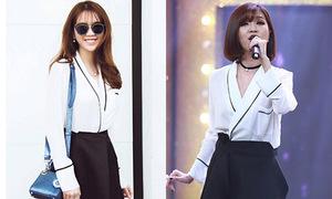 Ngọc Trinh may váy fake dàn sao Việt, bán giá gấp đôi