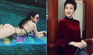 Sao Việt 10/1: Huyền Baby khoe body 'bỏng mắt', HH Mỹ Linh kiêu sa khó nhận ra